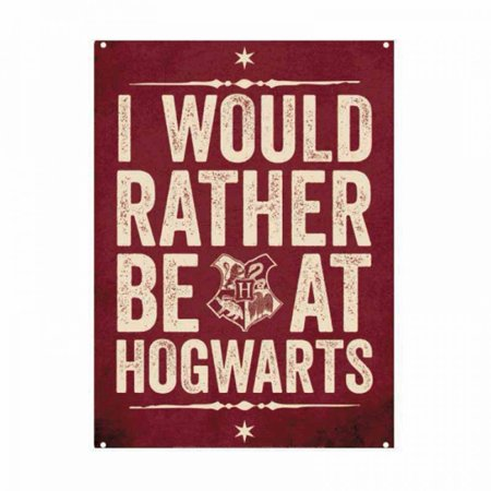 Harry Potter I'd Rather Be At Hogwarts Small Tin (Harry Styles Sign Of The Times Review)