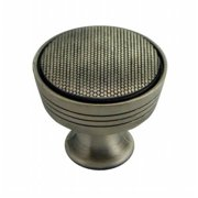 Strategic Brands 17121 1.25 in. Satin Antique Nickel Guerlain Knob