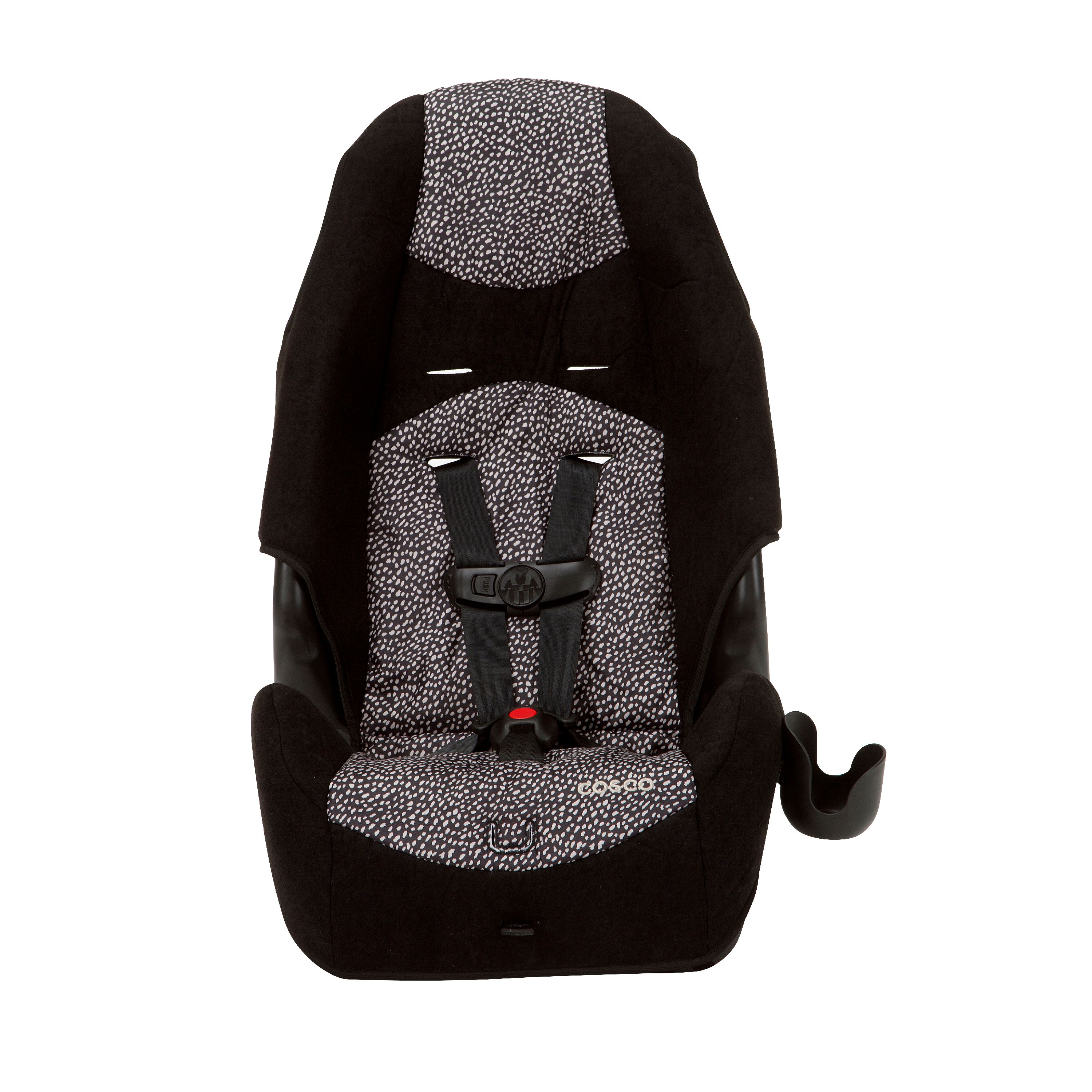 Cosco Highback 2-in-1 Harness Booster Car Seat, Speckle