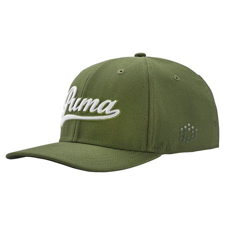 new products d25e5 84c2f PUMA Script Fitted Golf Cap 2017 - Walmart.com