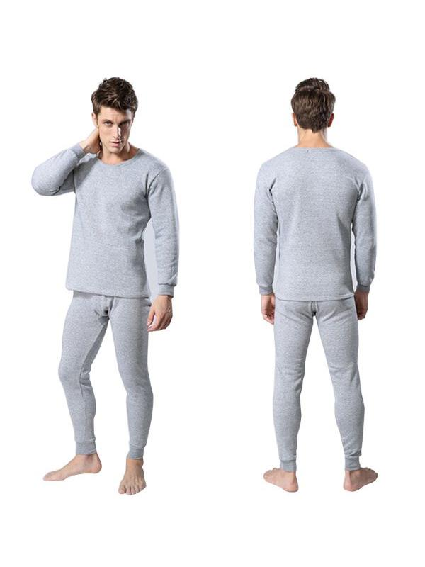 Long Johns For Male Female Warm Thermal Underwear 2pcs//Set Thermal Suit L-3XL