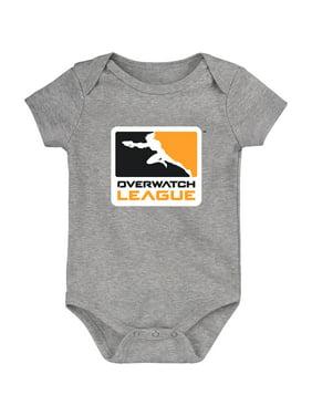 Overwatch League Gear Infant Overwatch League Team Identity Bodysuit - Heather Gray