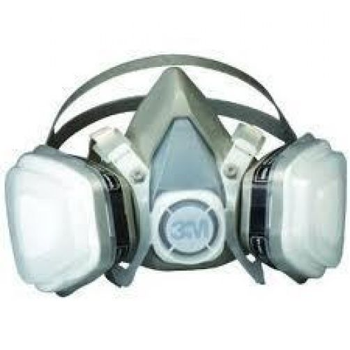 3M 07192 Dual Cartridge Respirator Assembly, Organic Vapor/P95, Medium, 12 Pack