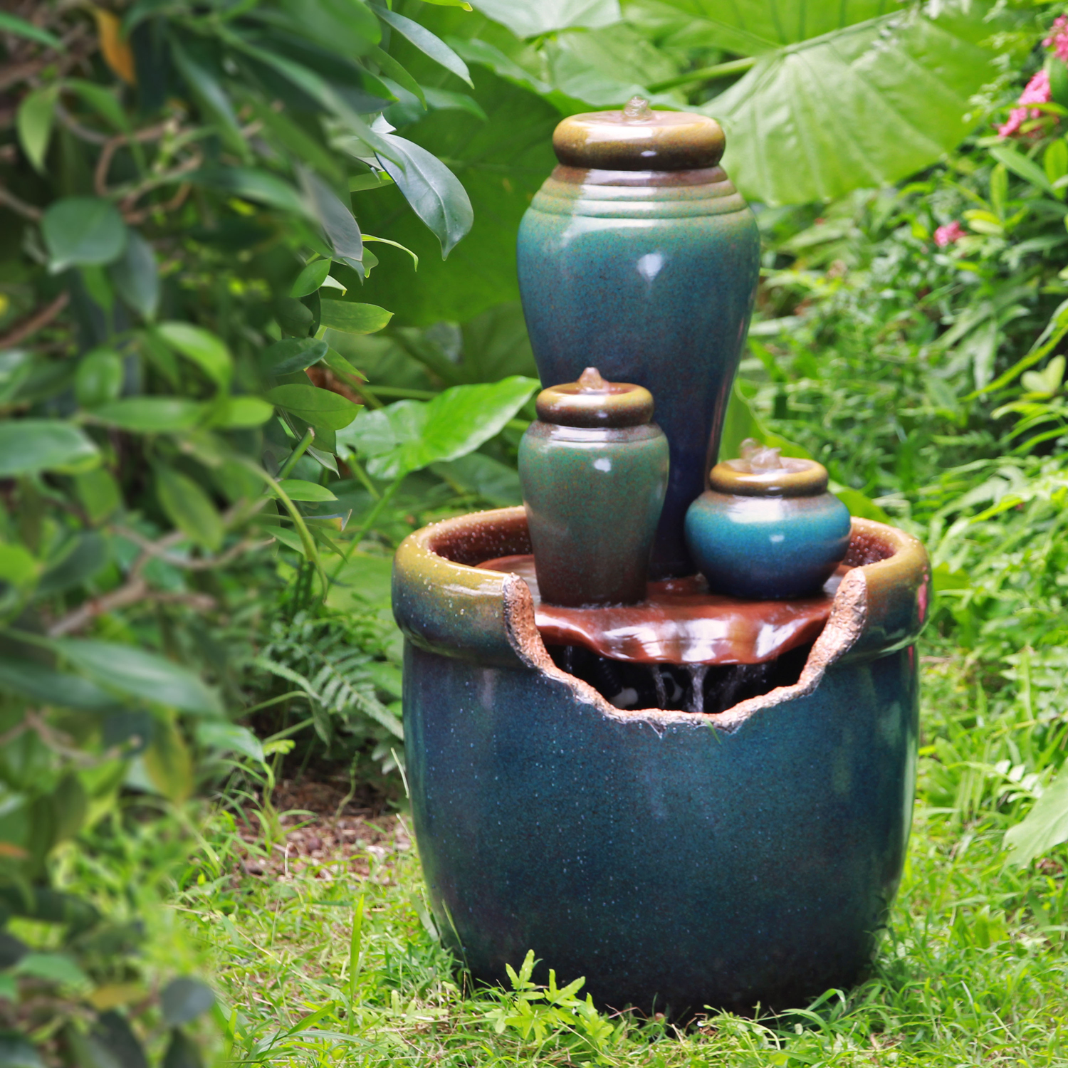 Better Homes And Gardens Holly Springs Outdoor Urn Fountain