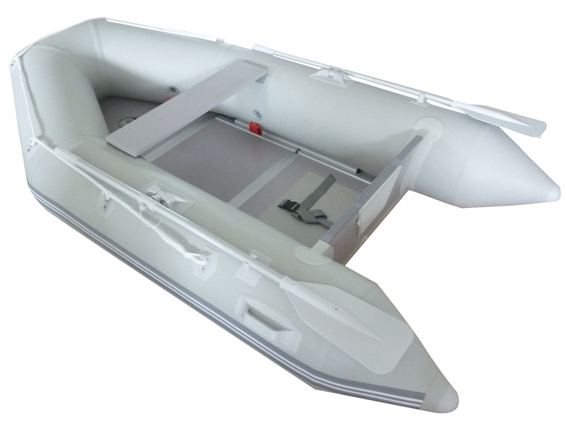 Gymax Inflatable Boat Tender Raft Dinghy With Floor by Gymax