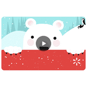 Christmas Bear Walmart eGift Card