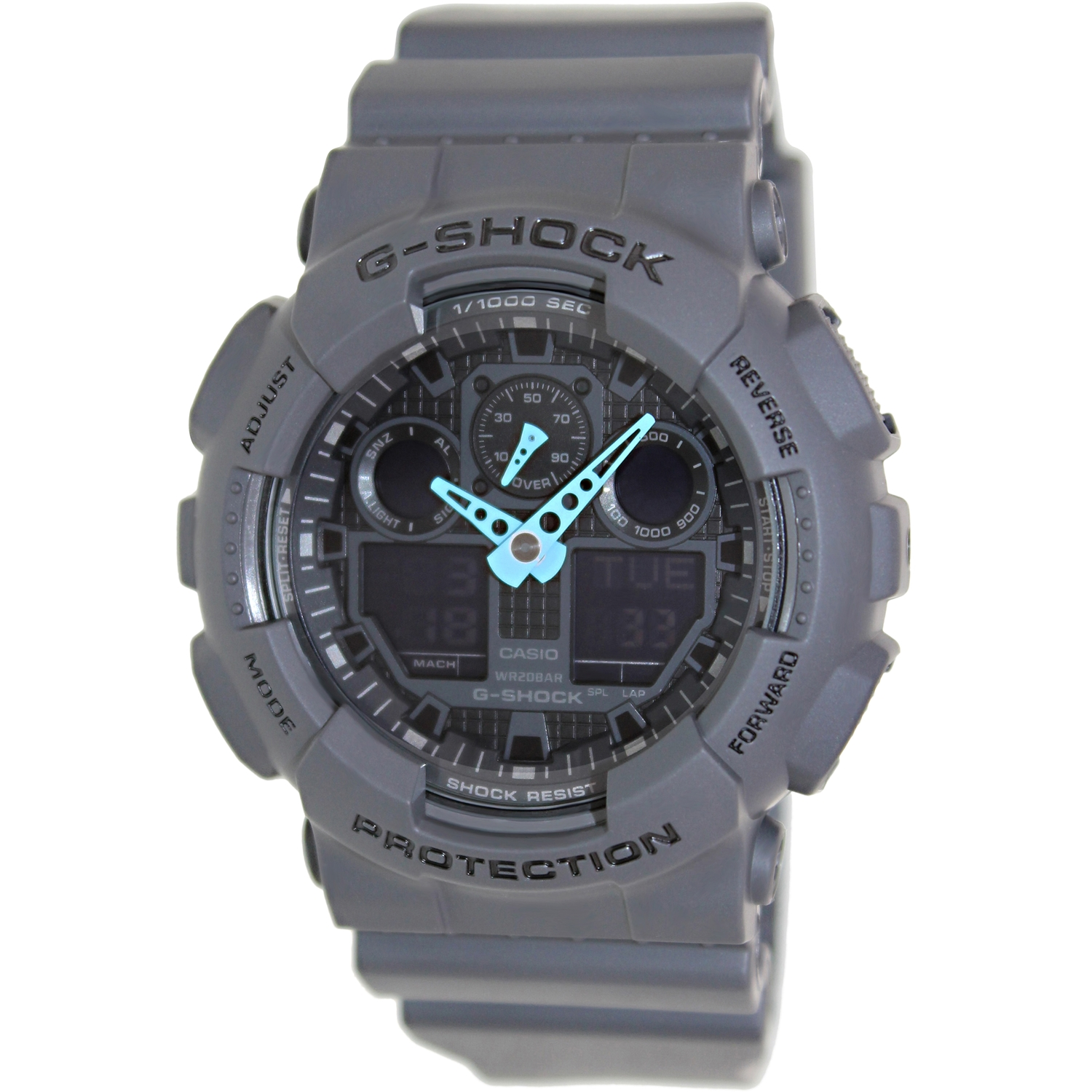 Casio G-Shock Ana-Digi Mens Watch GA100C-8ACR