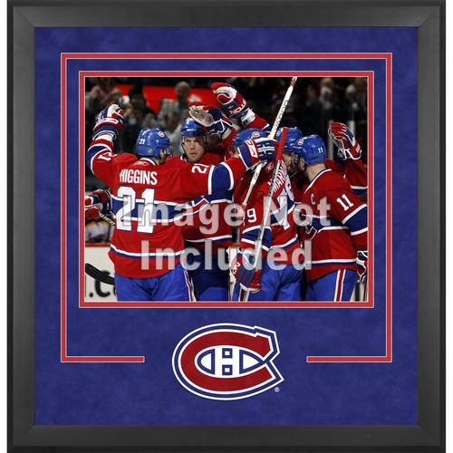 NHL - Montreal Canadiens Deluxe 16x20 Horizontal Photograph Frame