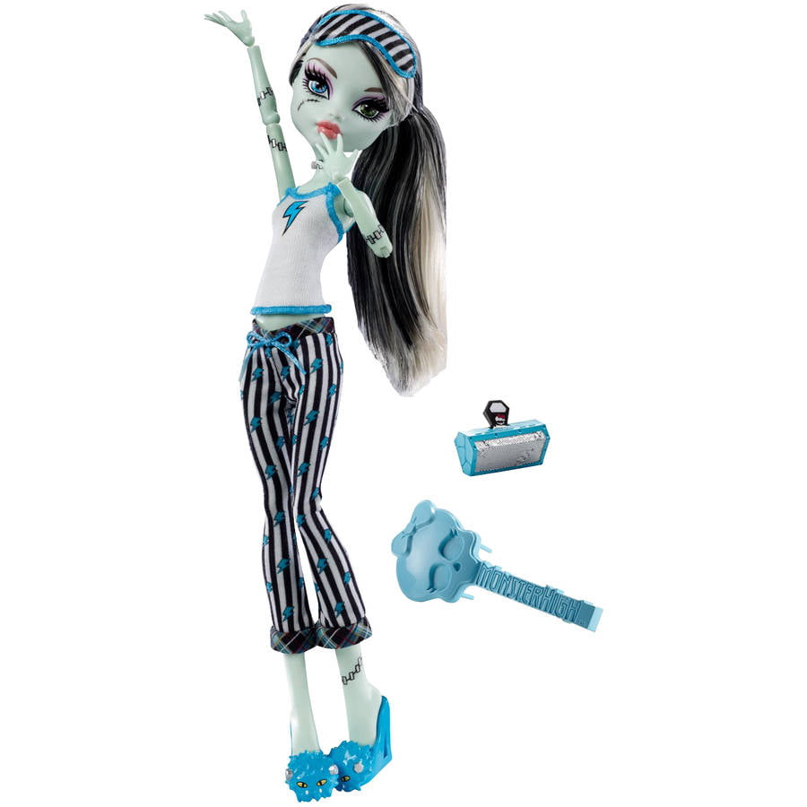 Monster High Dead Tired Doll, Frankie Stein by Mattel