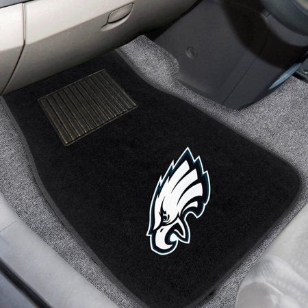 Philadelphia Eagles 2-Piece Embroidered Car Mat Set Eagles Auto Car Mat
