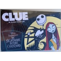 Nightmare Before Christmas Clue The classic Mystery Game