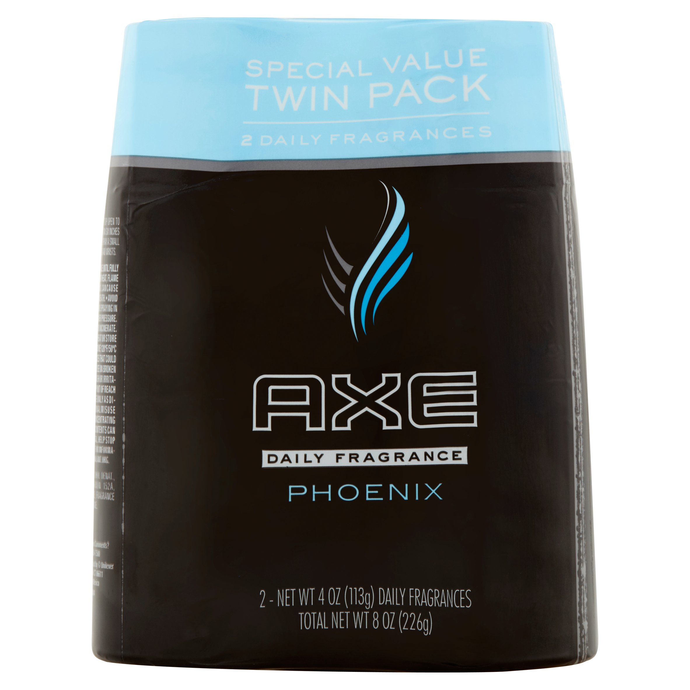 Axe Phoenix Daily Fragrance Special Value Twin Pack, 4 oz, 2 count