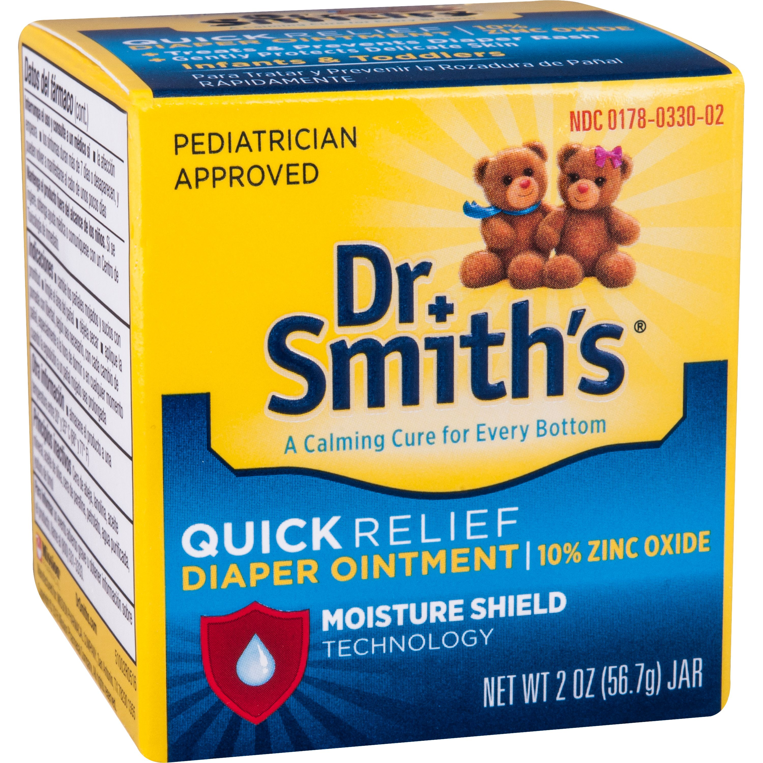 Dr. Smith's Premium Blend Diaper Ointment, 2 oz