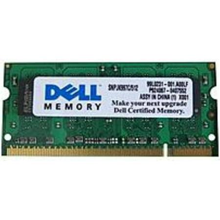 - Refurbished Dell SNPJK997C/512 512 MB Memory Module - DDR2 RAM - SODIMM 200-pin - PC2-5300 - 667 MHz