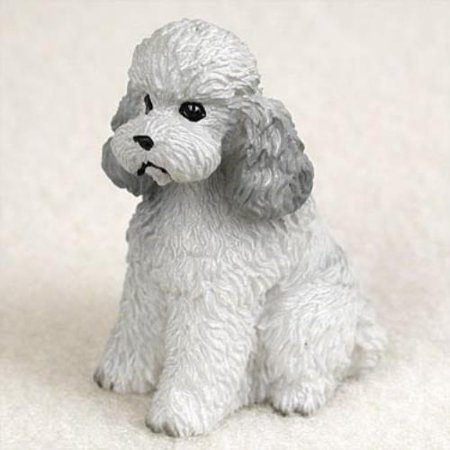 DTN104B CON Poodle Gray w/Sport Cut Tiny One Figurine