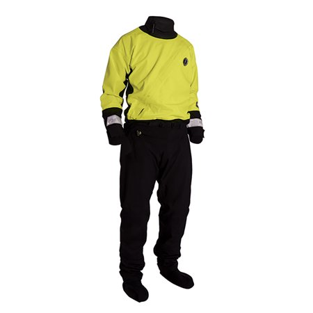 Mustang Water Rescue Dry Suit - MED - Yellow/Black - image 1 de 1