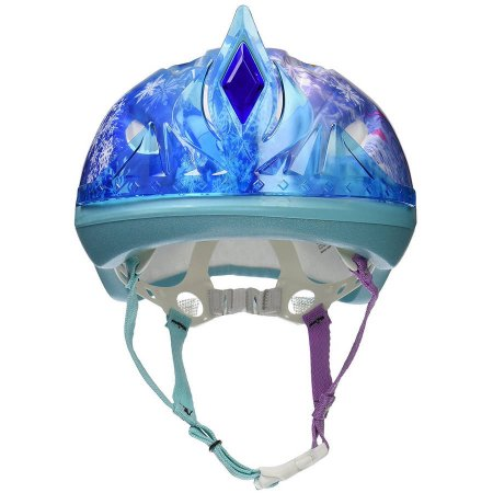 Disney Frozen 3D Tiara Child Bike Helmet, Blue