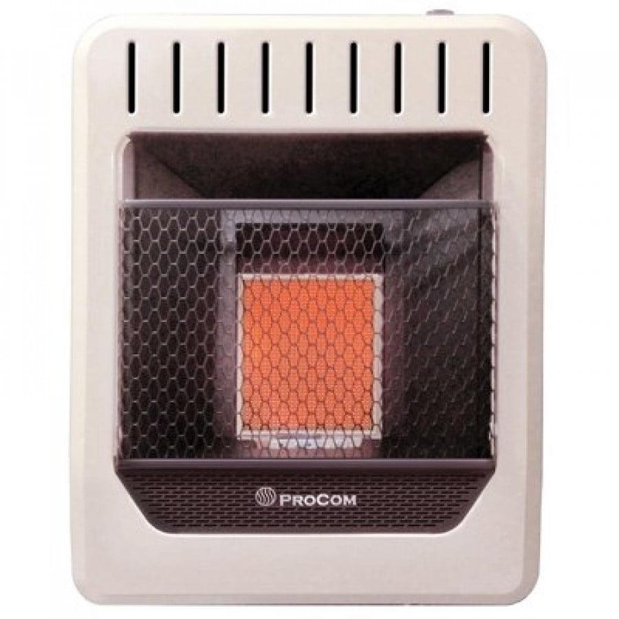ProCom Heating 10,000 BTU 500 Sq. Ft. Ventless Natural Gas l Heater by PROCOM HEATING INC