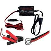 12 volt multiamp Motorcycle boat battery smart charger waterproof by Banshee