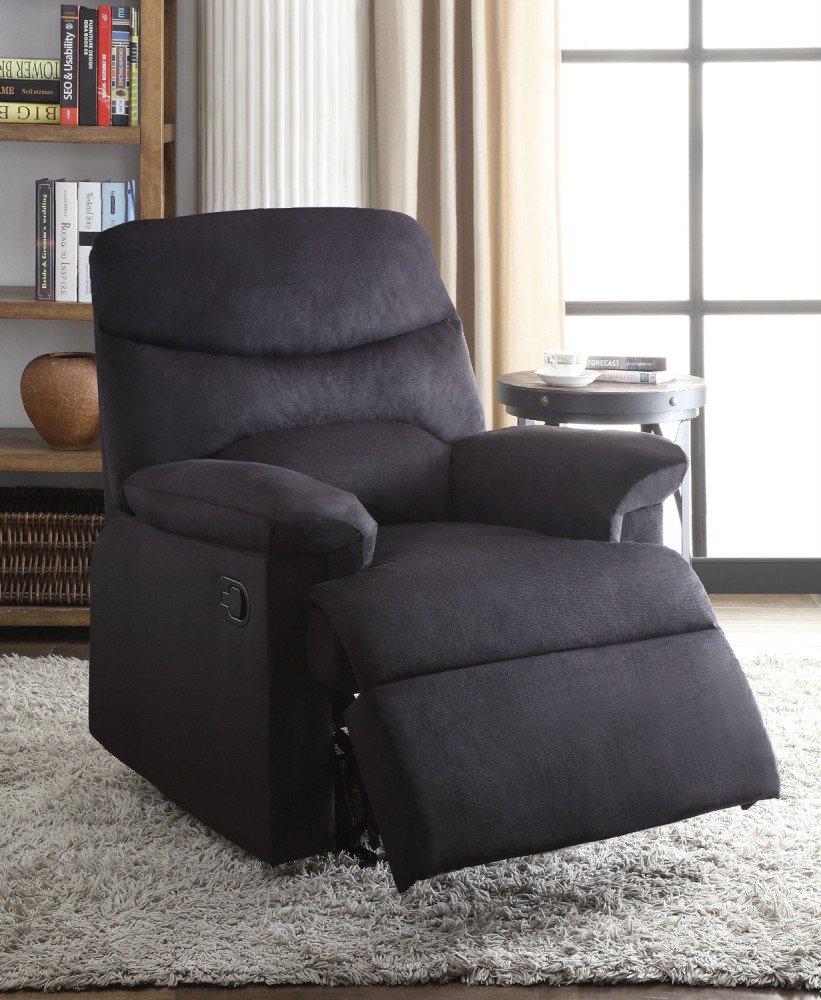 1PerfectChoice Arcadia Black Fabric Recliner Chair