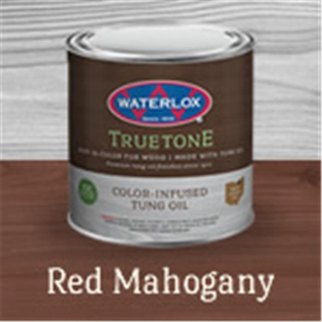 Waterlox TB 7008 125 Red Mahogany True Tone Color-Infused Tung Oil