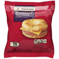 Jimmy Dean® Ham and Cheese Croissant Sandwich, Individually Wrapped, 3.4 oz