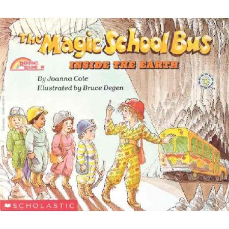 The Inside the Earth (the Magic School Bus) (The Magic School Bus Halloween)