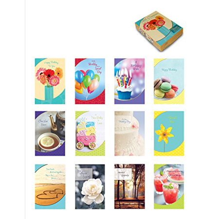 Designer Greetings Foiled Embossed Greeting Cards for All Occasions, Assorted (Embossed Flat Card)
