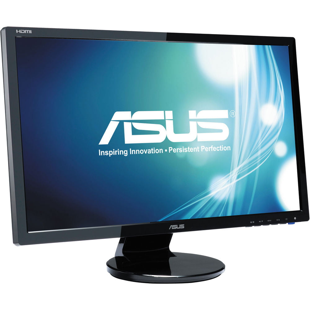 Refurbished - ASUS VE247H 24 LED LCD Monitor, built-in Speakers 2ms 1920x1080 VGA DVI HDMI
