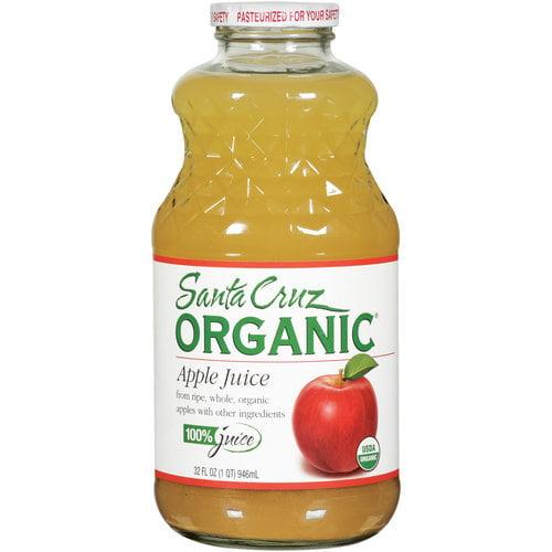 Santa Cruz Organic 100% Apple Juice, 32 fl oz