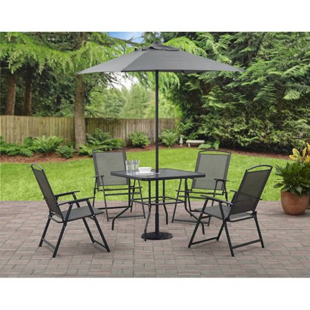 Mainstays Albany Lane 6-Piece Outdoor Patio Dining Set ...