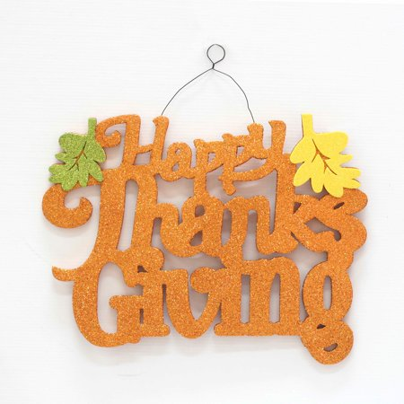 15-inch Thanksgiving Wall Decor - Happy Thanksgiving