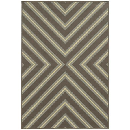 Style Haven Rio Mar Diagonal Stipe Indoor/ Outdoor Area Rug This eye catching geometric pattern area rug will help your outdoor spaces feel more like home with its wide range of cool and bright colors. This durable polypropylene rug will endure the elements and continue to look great for many years.Machine wovenDurable with easy care and cleaningPrimary materials: 100 percent polypropyleneLatex: NoPile height: .16 inchesStyle: Indoor/OutdoorPrimary color: MultiSecondary colors:  Spa Blue, Stone Grey, Cobalt, Lt. Blue, Gray, Lime GreenPattern:  GeometricTip: We recommend the use of a  non-skid pad to keep the rug in place on smooth surfaces.All rug sizes are approximate. Due to the difference of monitor colors, some rug colors may vary slightly. Overstock.com tries to represent all rug colors accurately. Please refer to the text above for a description of the colors shown in the photo.Tip: We recommend the use of a  non-skid pad to keep the rug in place on smooth surfaces.All rug sizes are approximate. Due to the difference of monitor colors, some rug colors may vary slightly. Overstock.com tries to represent all rug colors accurately. Please refer to the text above for a description of the colors shown in the photo.Tip: We recommend the use of a  non-skid pad to keep the rug in place on smooth surfaces.All rug sizes are approximate. Due to the difference of monitor colors, some rug colors may vary slightly. Overstock.com tries to represent all rug colors accurately. Please refer to the text above for a description of the colors shown in the photo.