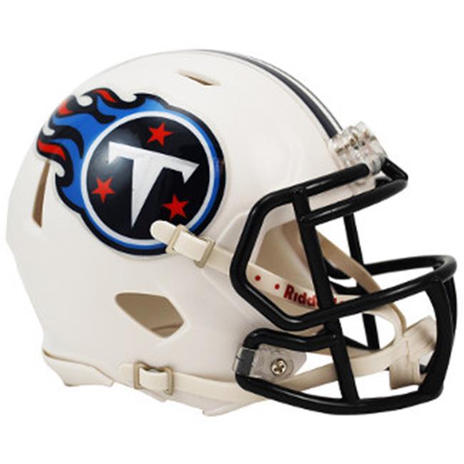 Athlon CTBL-016114 Tennessee Titans Speed Mini Helmet Unsigned