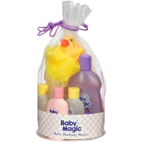 Baby Magic Baby Bathing Basics Gift Set - Walmart.com
