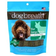 Herbsmith Dog Breath Dental Chews, Large Dogs
