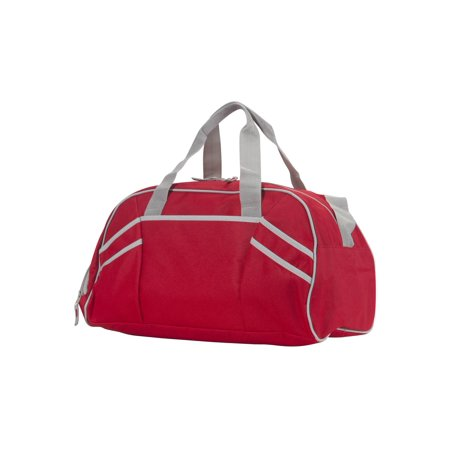 Varsity Sports Duffle Bag, Red - image 2 de 2