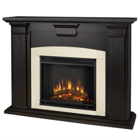 Real Flame Adelaide Indoor Electric Fireplace in Black Wash - image 4 of 5