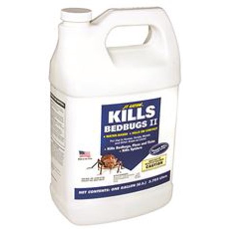JT Eaton 207-W1G Kills Bedbugs II Water Based Bedbug Spray with Sprayer Attachment, 1-Gallon (Electronic Water Repellent Spray)