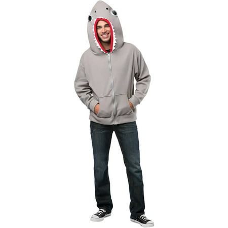 Shark Hoodie Men's Adult Halloween - Halloween Movie Hoodie