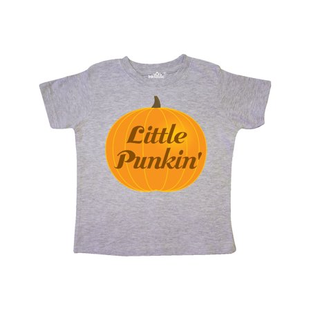 Little Halloween Pumpkin Kids Toddler T-Shirt
