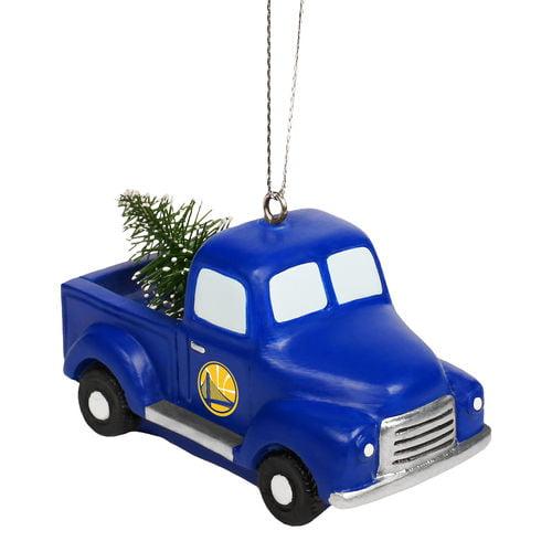 Nba Warriors Truck W Tree Orn