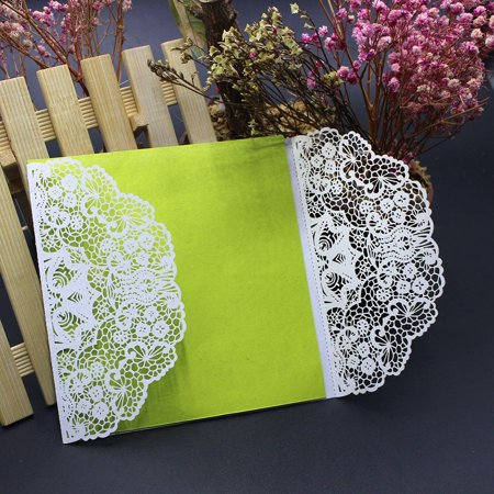 10Pcs Wedding Invitation Card Kit with Envelopes Seals Personalized Printing - Printing Invitations