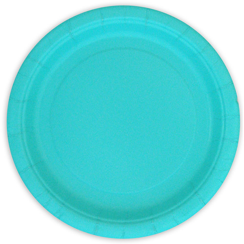 Paper Plates, 7 in, Teal, 24ct