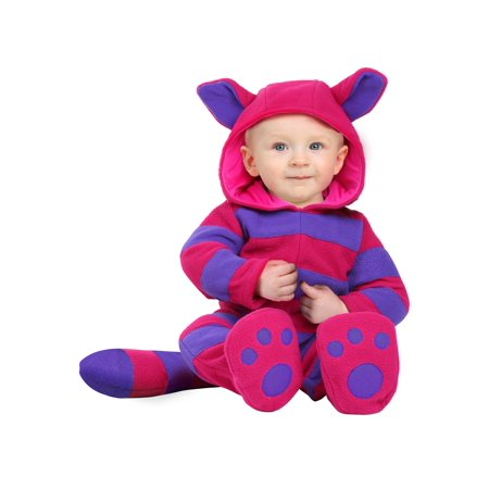 Infant Cheshire Cat Costume (White Cat Ears Costume)