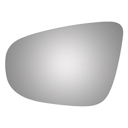Burco 4370 Driver Side Power Replacement Mirror Glass for Volkswagen Golf, (2015 Volkswagen Golf Gti Autobahn W Performance Pkg)