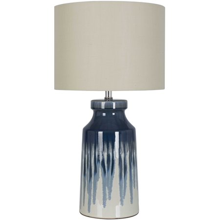 Ceramic Wave Table Lamp - Better Homes and Gardens Large Drip Ceramic Lamp
