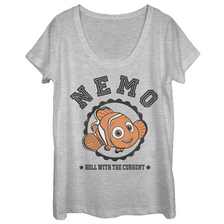 Finding Nemo Outfit (Finding Dory Women's Nemo Roll with Current Scoop Neck)
