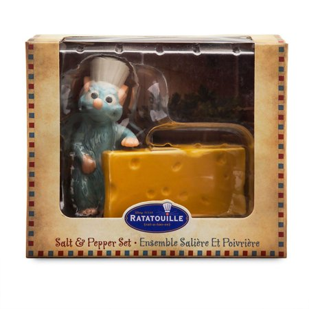 Disney Ratatouille Remy Cheese Salt and Pepper Set New with