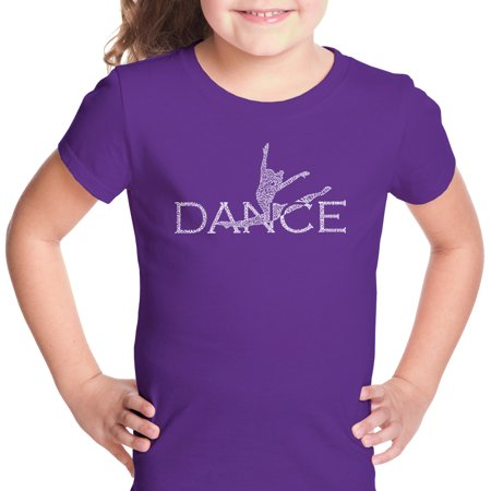 LA Pop Art Girl's Word Art T-shirt - Dancer